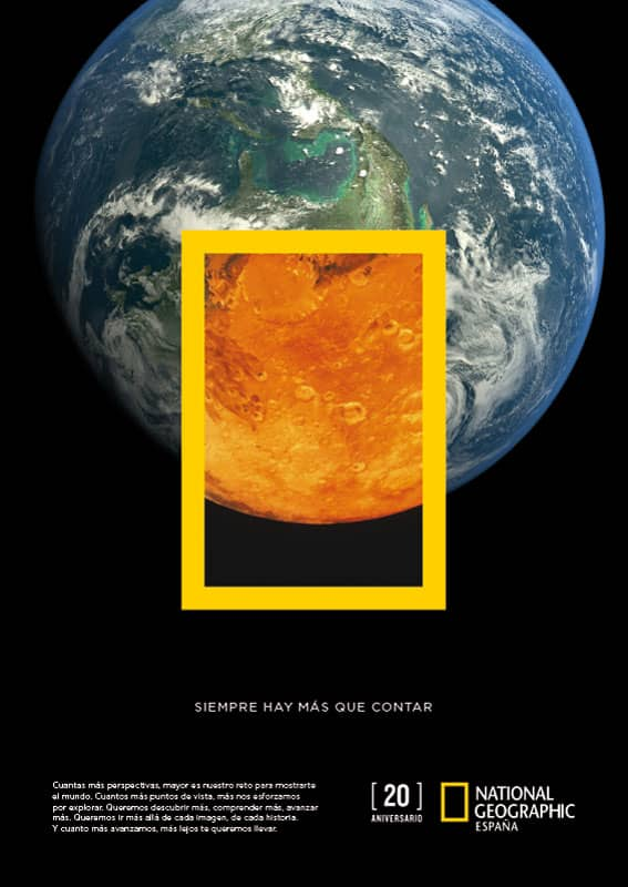 National Geographic 20th Anniversary