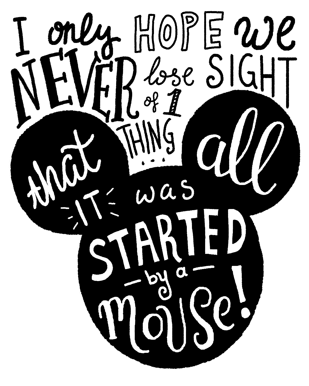 It Was All Started by a Mouse!