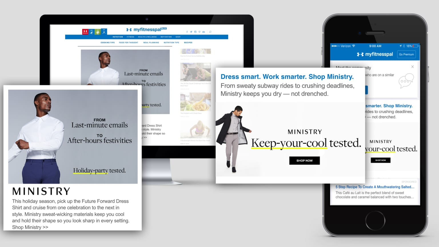 Ministry of Supply's First-Ever Paid Media Campaign