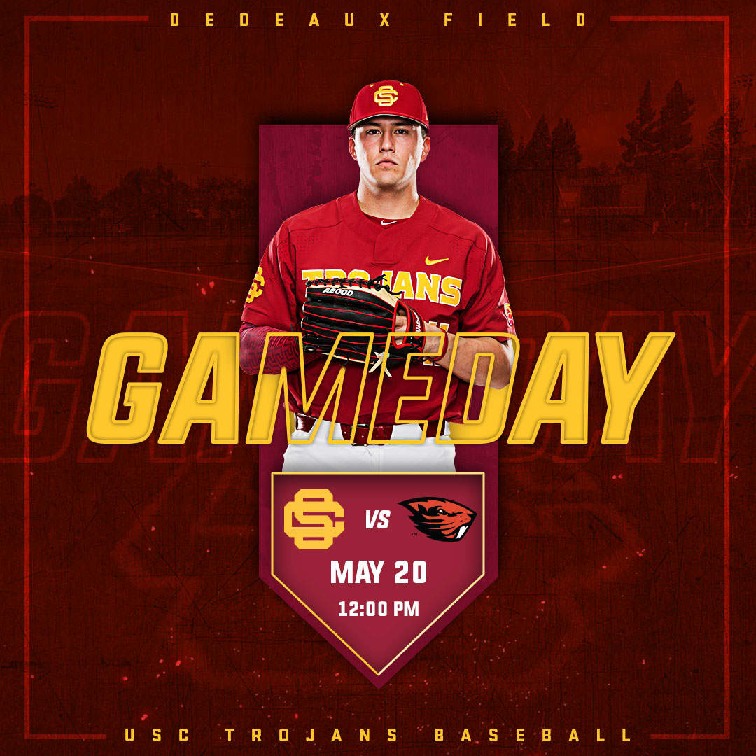 USC Baseball Game Day Graphics Package