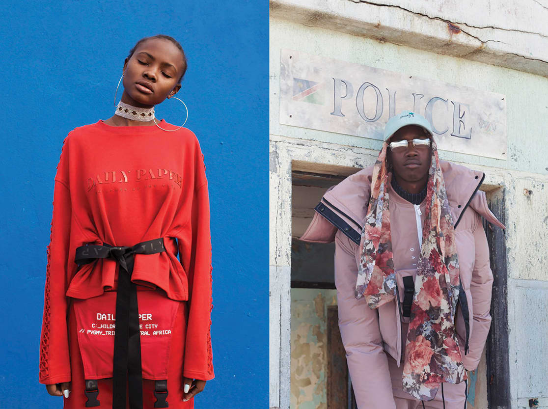 FW17 DAILY PAPER WOMAN'S COLLECTION