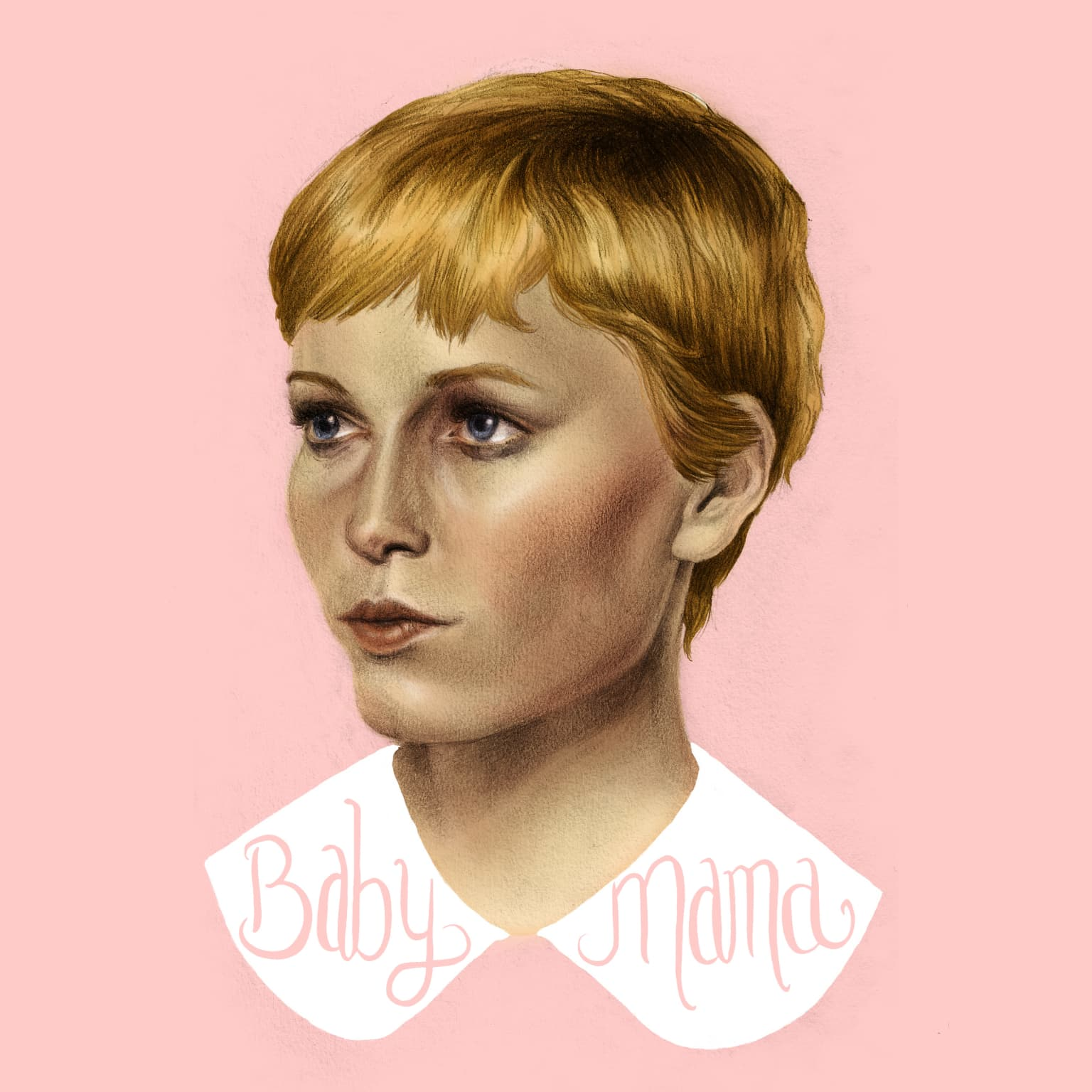 Mia Farrow Portrait