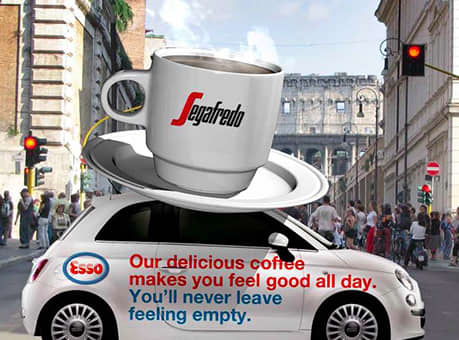 Esso. Never Leave Feeling Empty