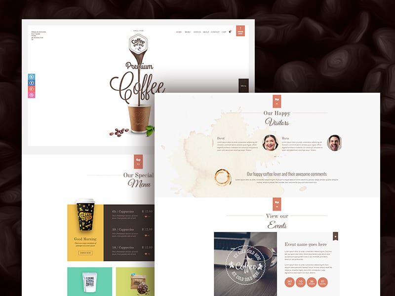 PSD Template for eCommerce Website