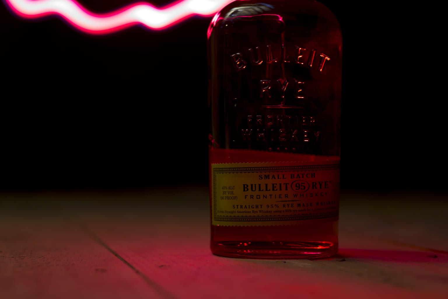 Bulleit Bourbon Photography