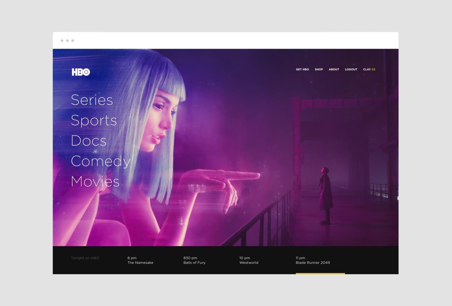 HBO Brand / Platform