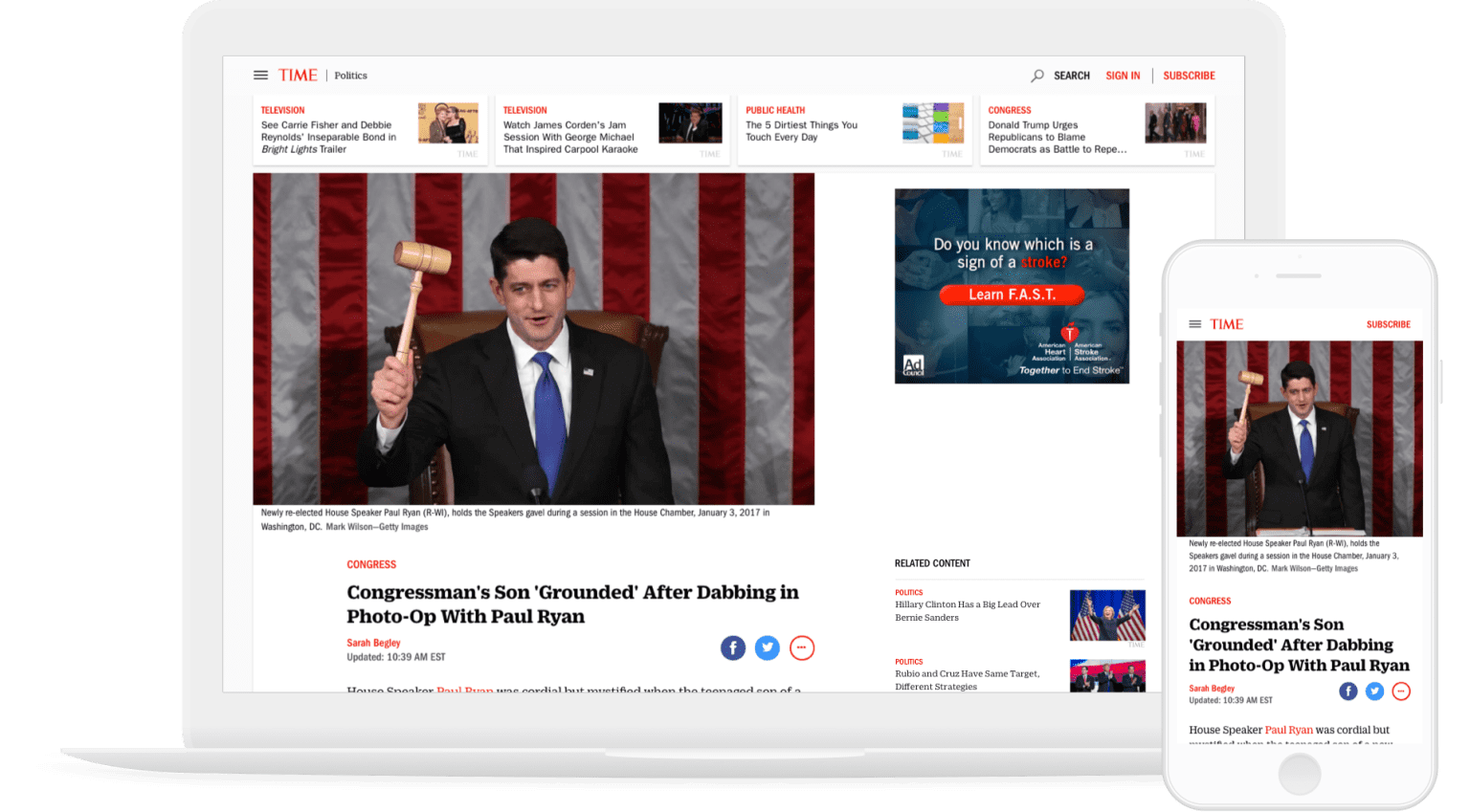 TIME, Fortune and Money.com Redesign