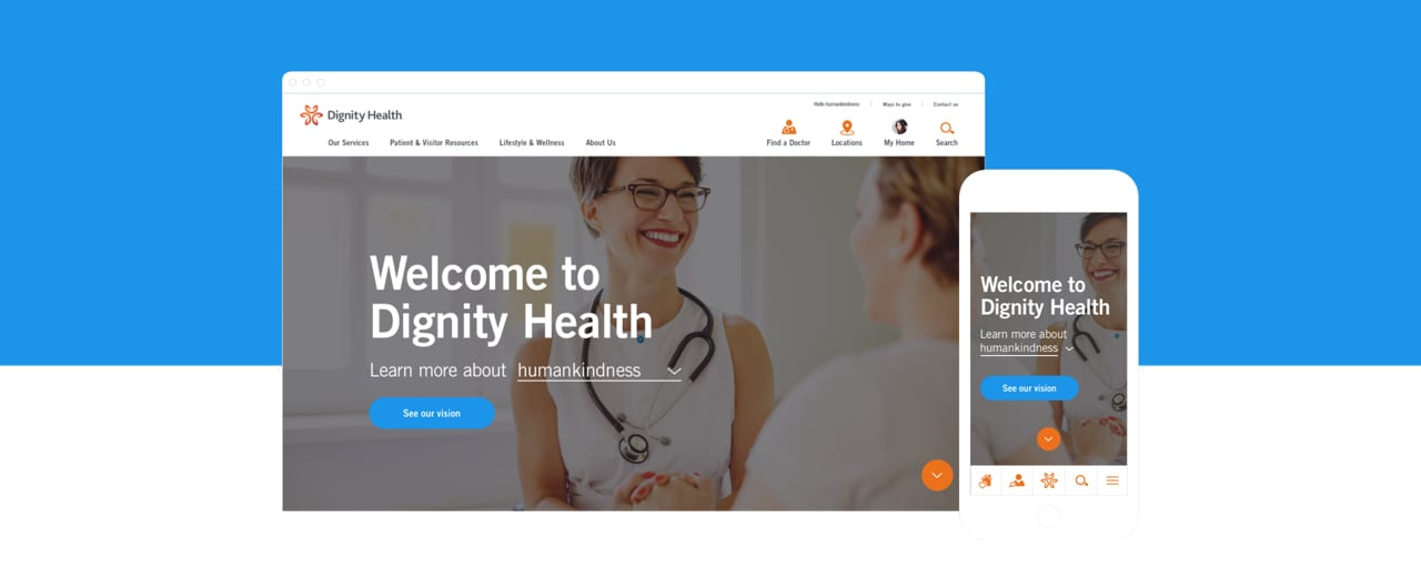 Dignity Health Navigation Redesign