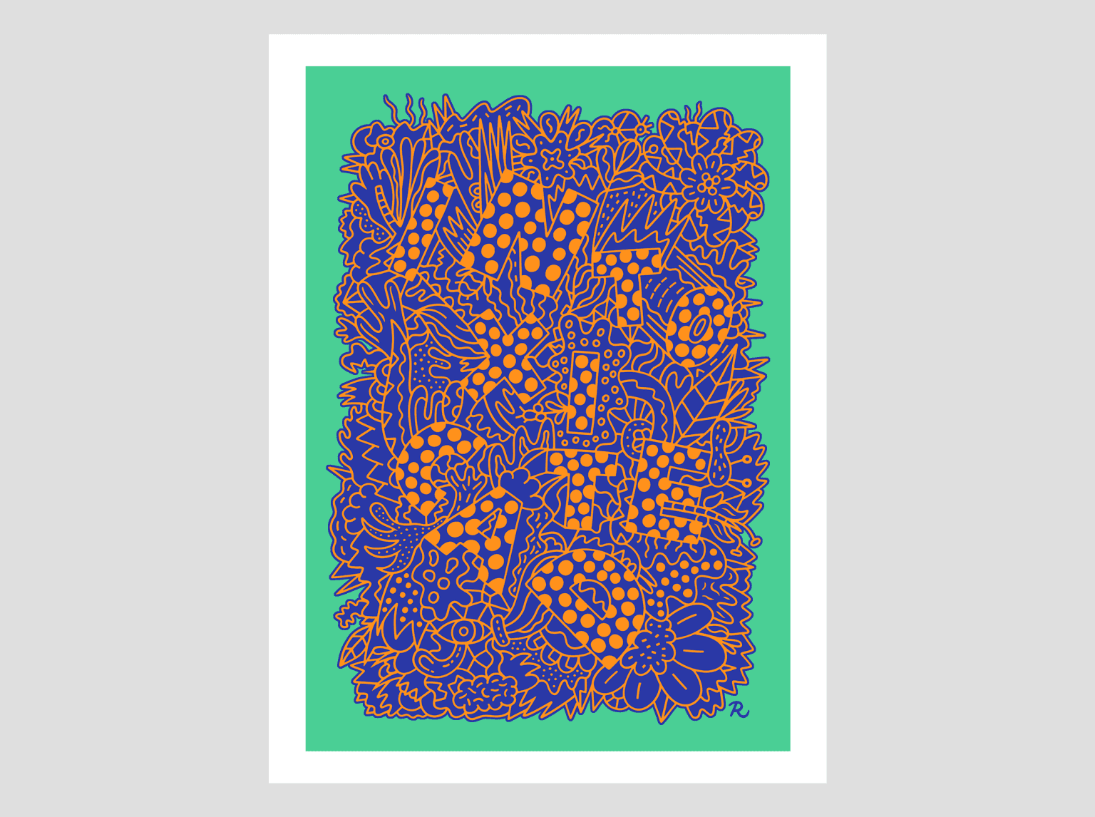 Intoxicated Screen Print