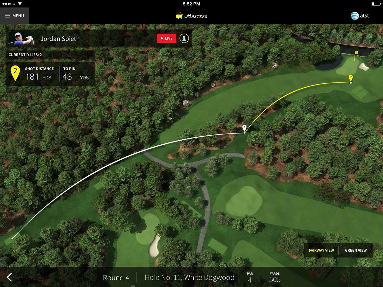 The Masters App