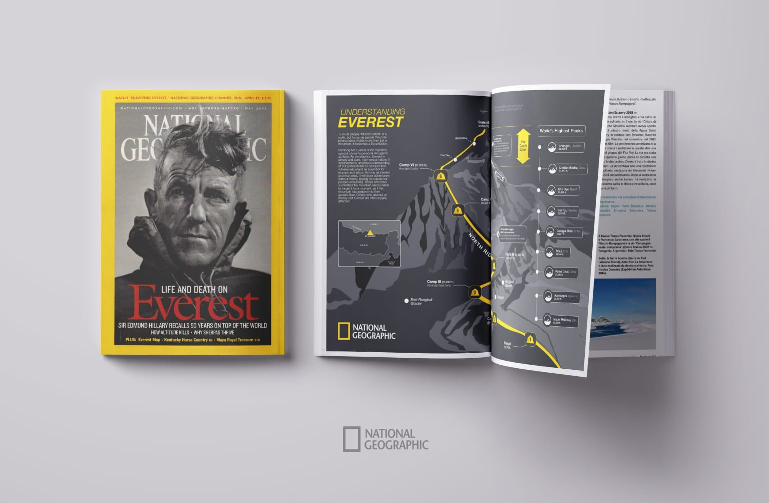 National Geographic: Project Everest