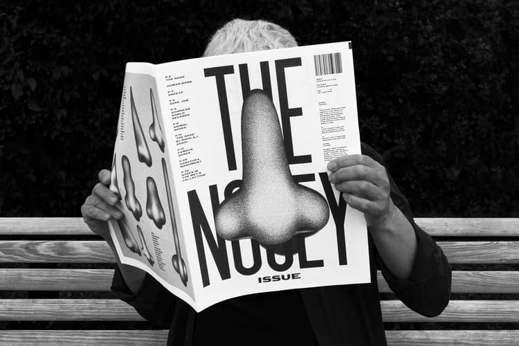 'The Nosey Issue', Publication