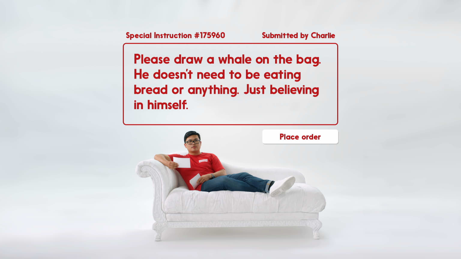 Seamless Special Instructions