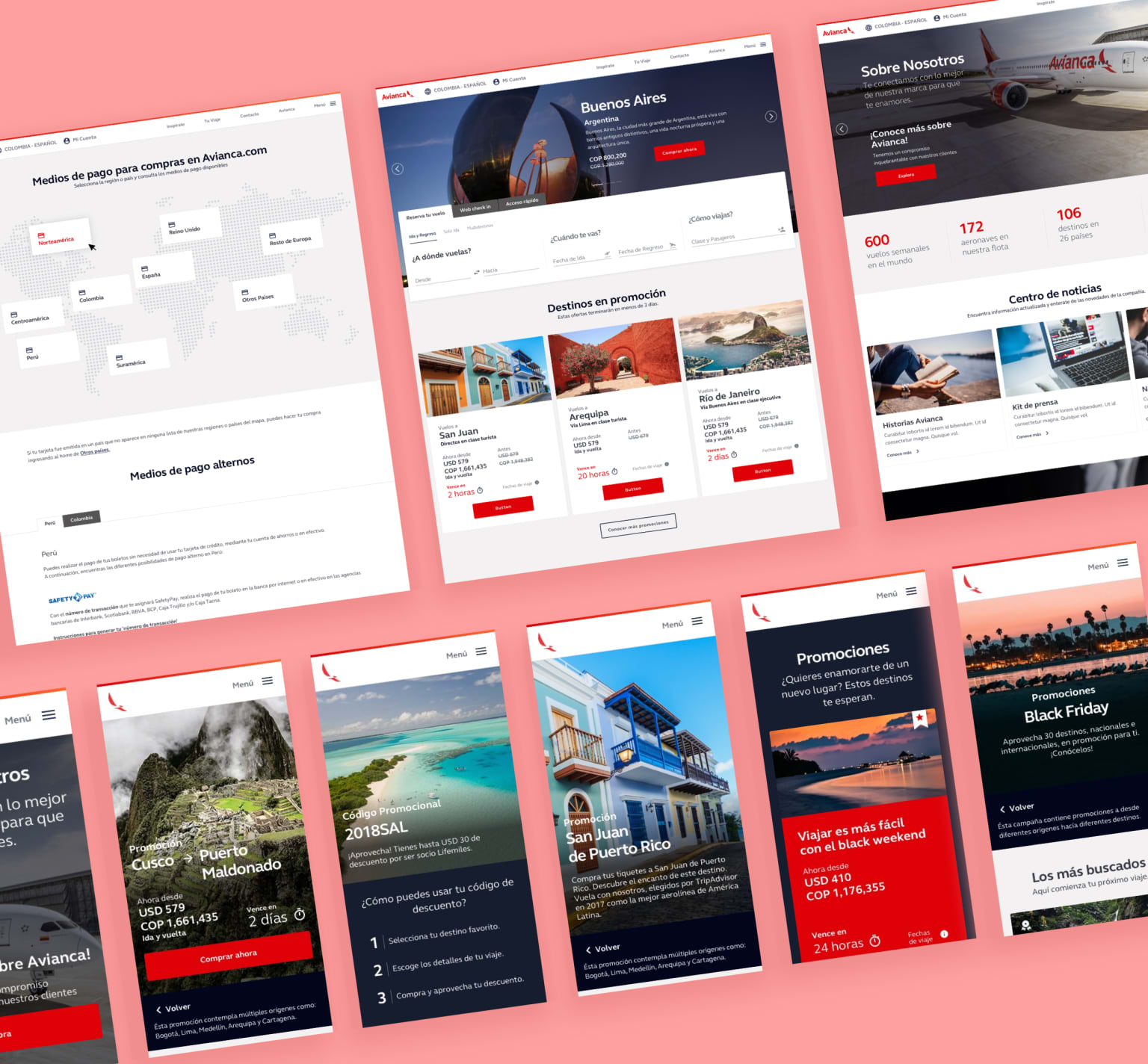 [Digital Product] The new digital experience for one of the biggest airlines.