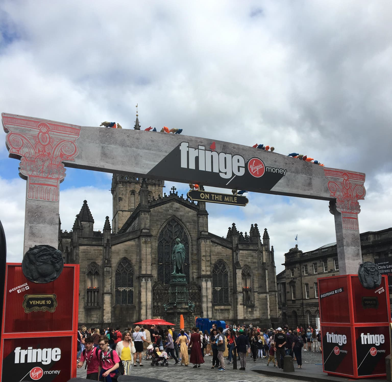 Edinburgh Fringe Street Events