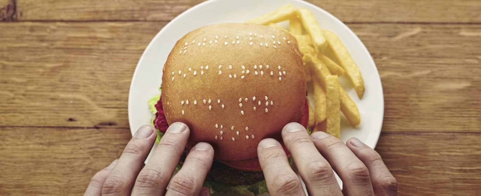 Braille Burger - Wimpy