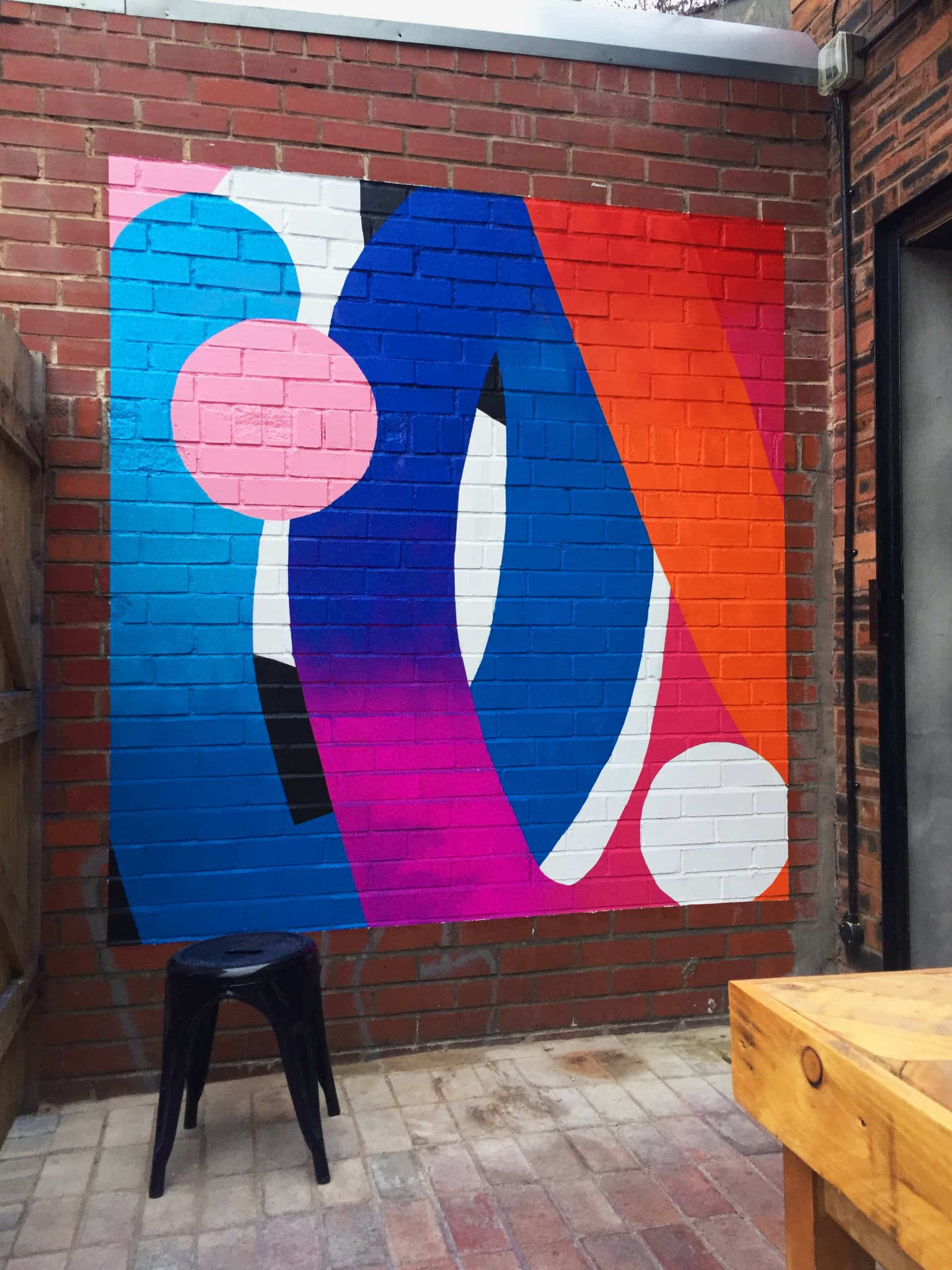All The Shapes   Mural