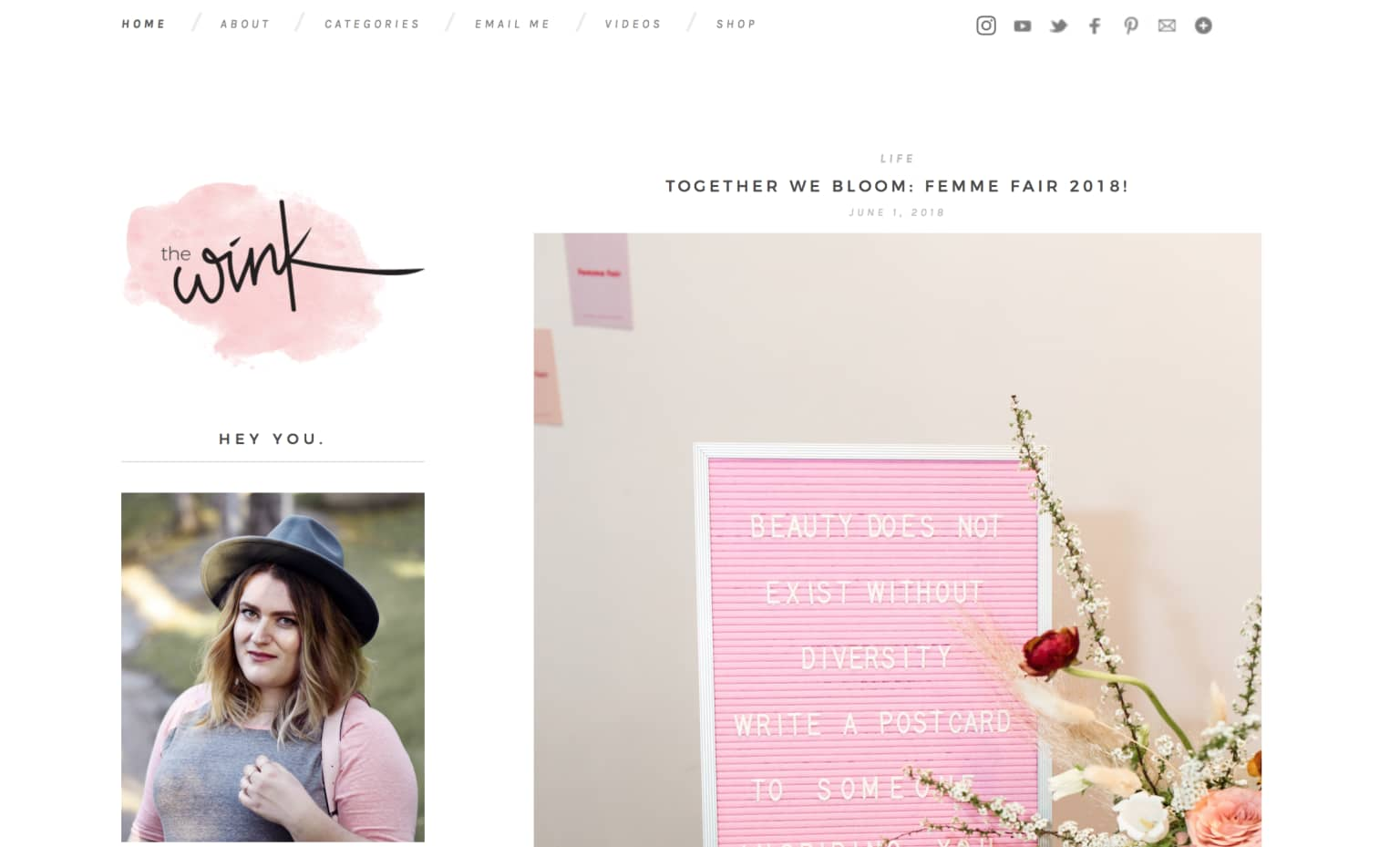 Founder + Editor of Women's Lifestyle Site, The Wink