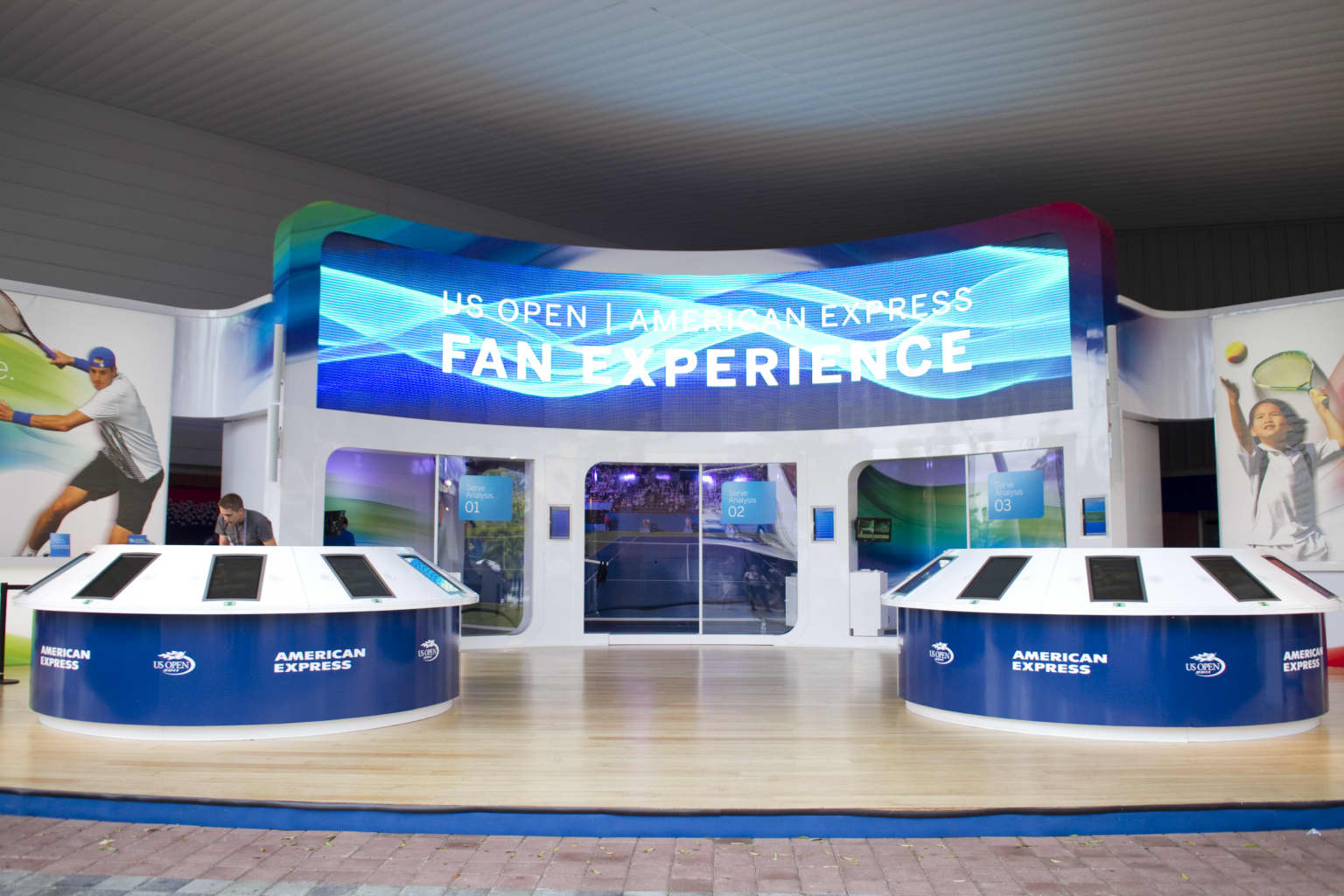 US Open Tennis Activation for American Express