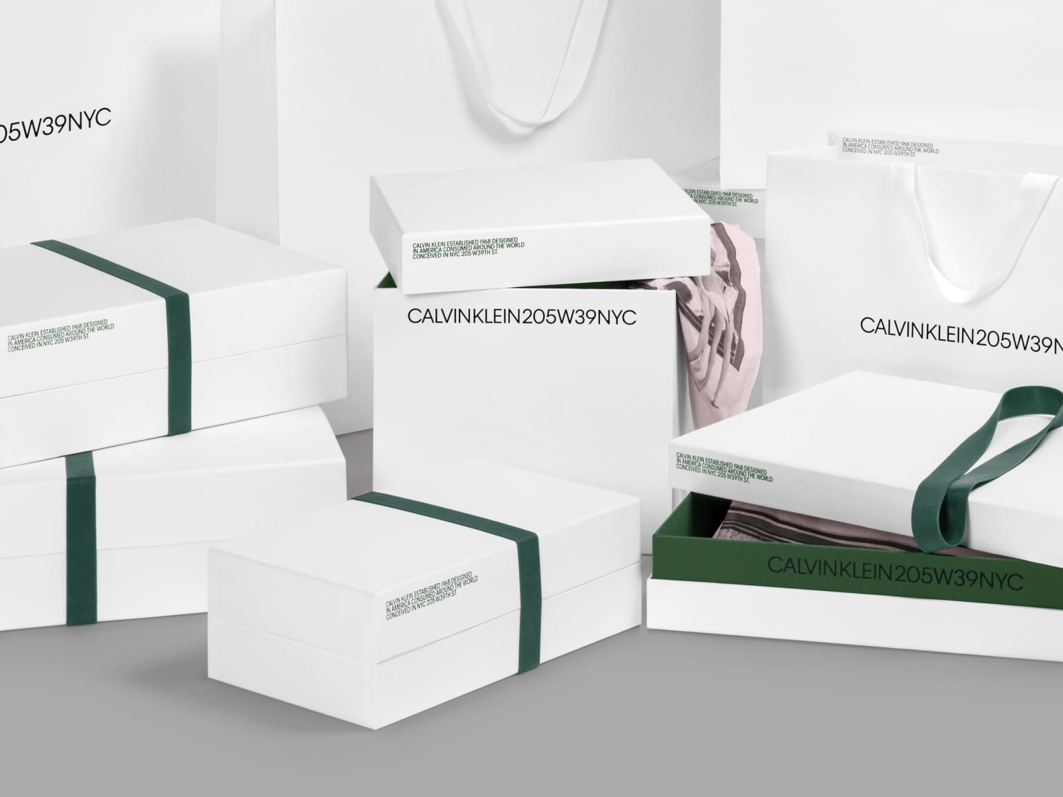 Calvin Klein 205W39NYC Packaging