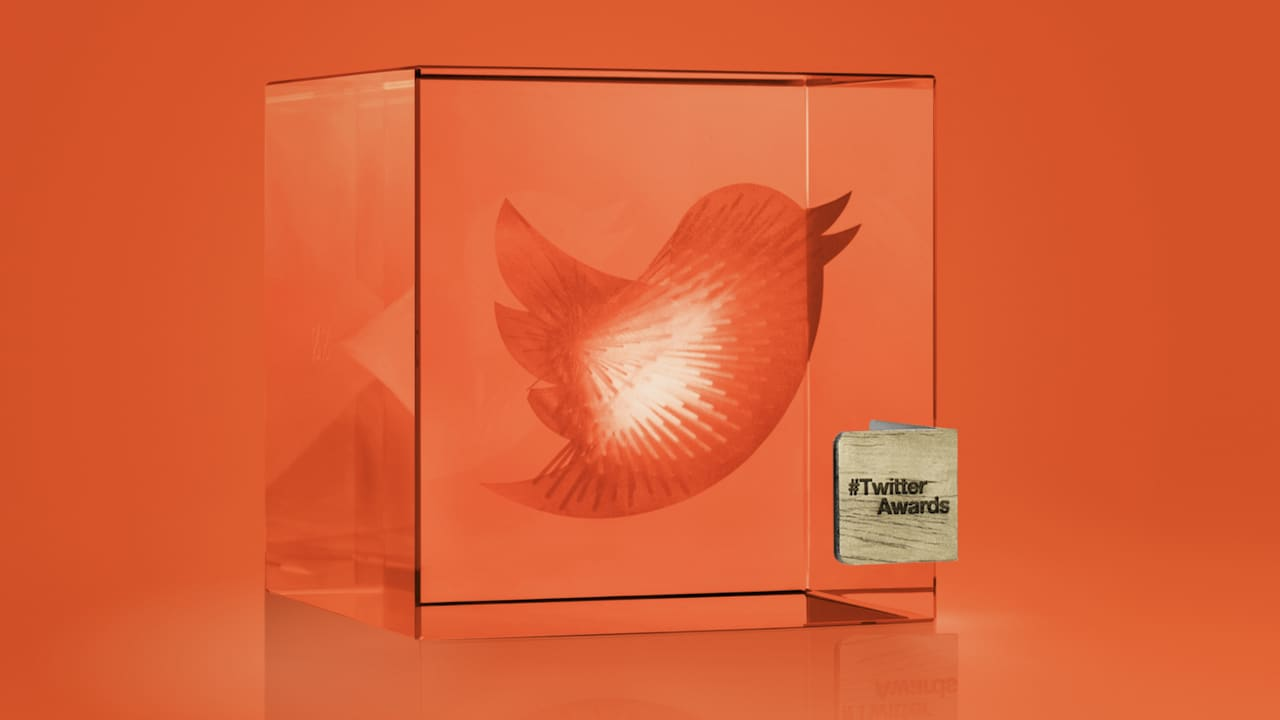Twitter Awards: Data Driven Trophy