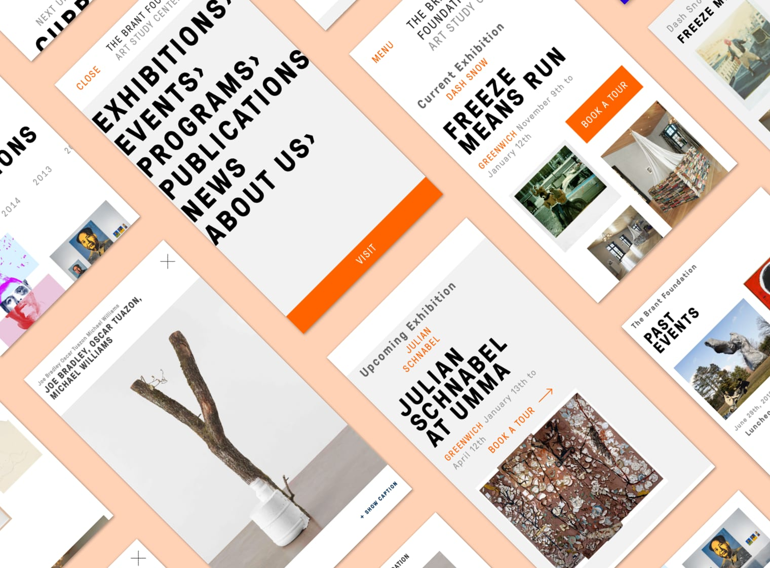 The Brant Foundation Responsive Redesign