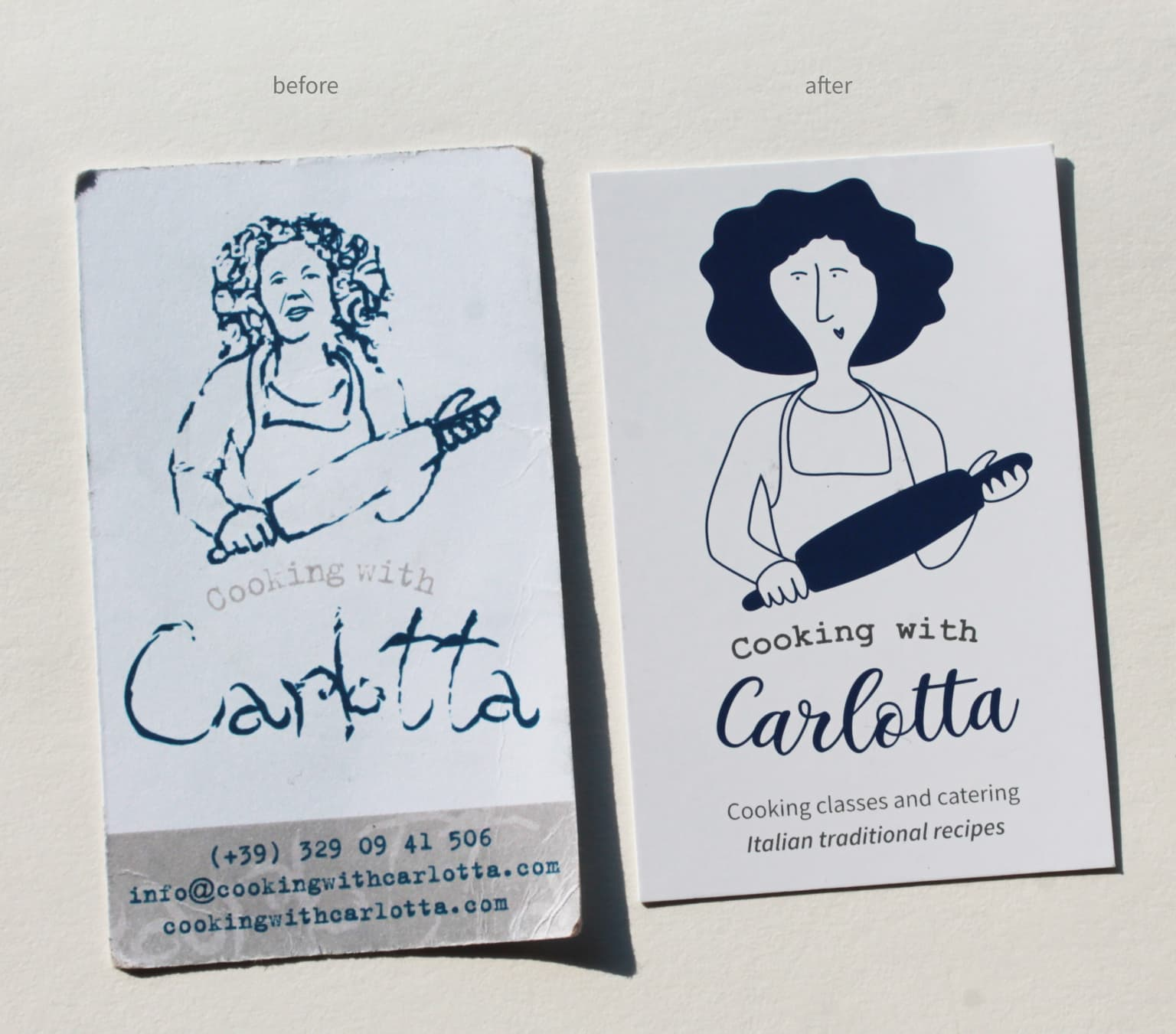 Cooking with Carlotta | Logo