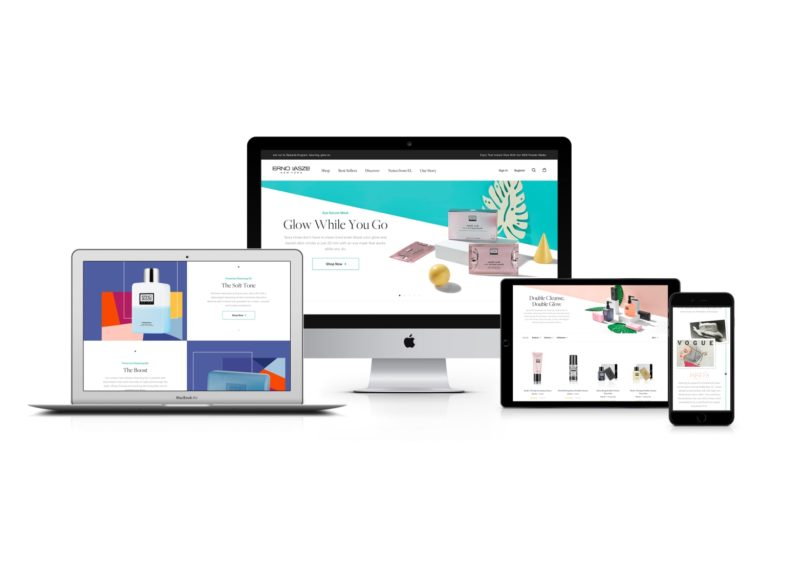 Erno Laszlo Website & Digital Facelift