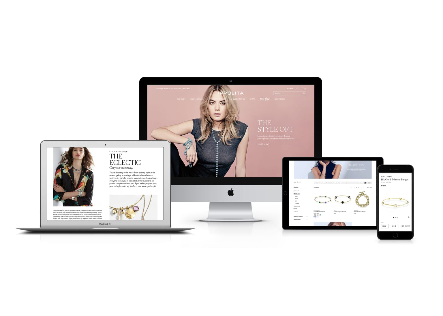 Ippolita Website Redesign