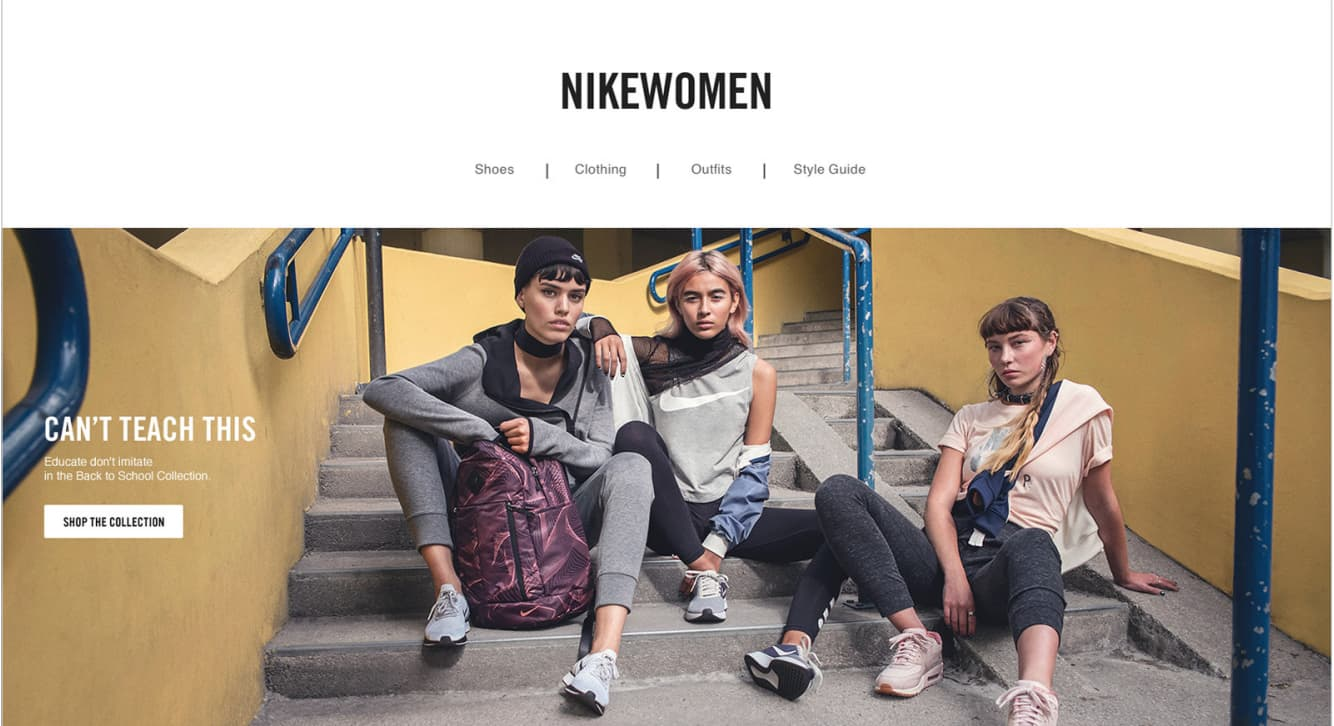 Nike Back to School Campaign
