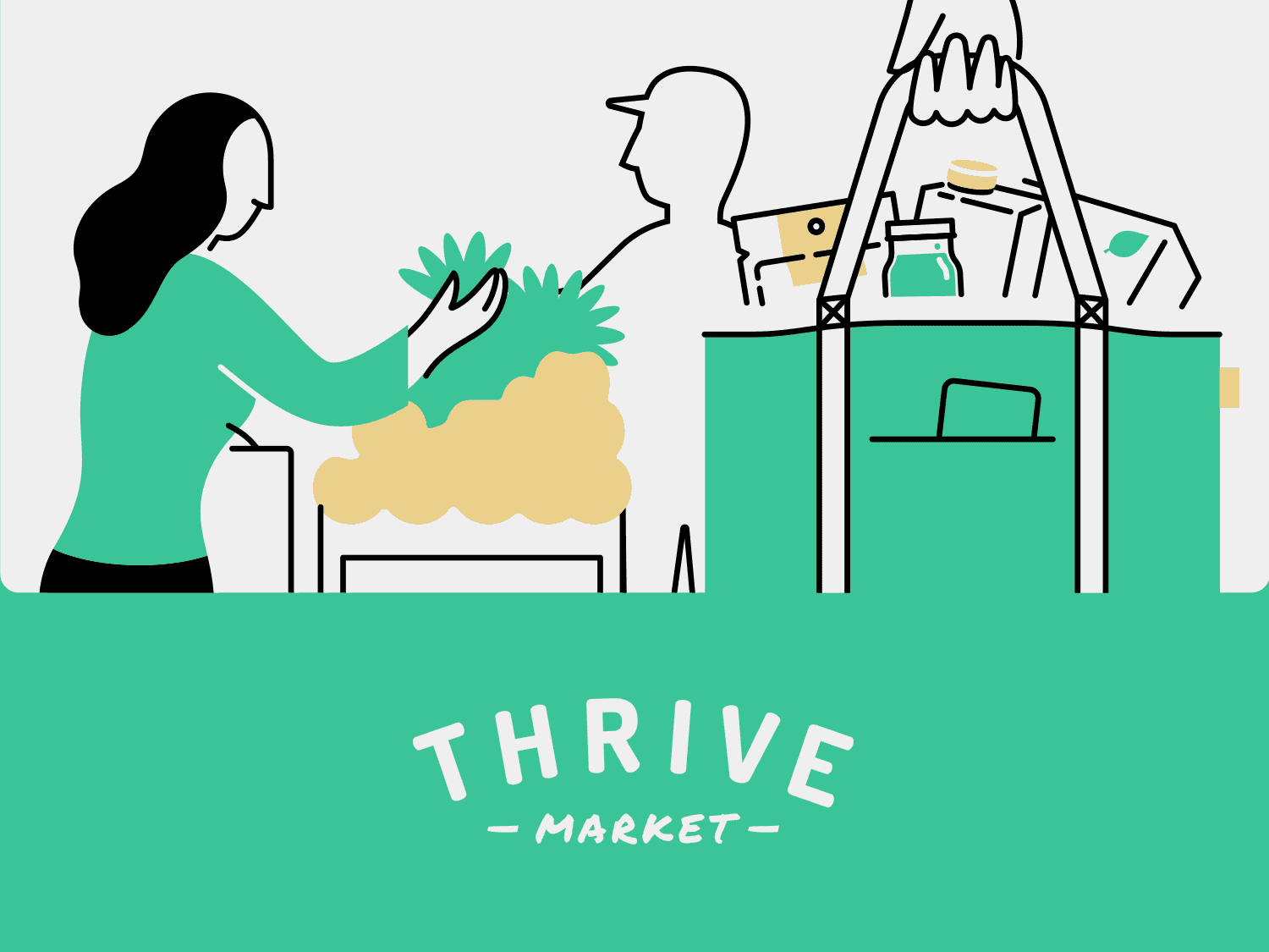 Thrive Market Illustrations