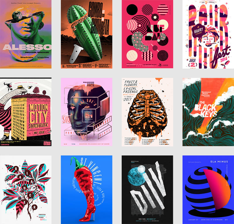 Gig Posters Collection