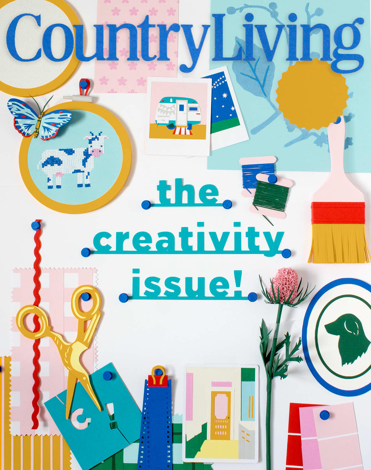 Country Living 'The Creativity Issue'