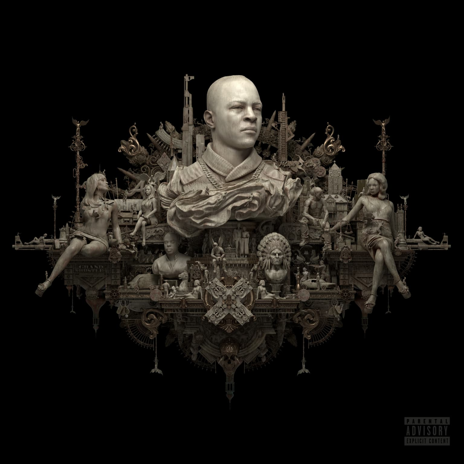 T.I. - Dime Trap Album Art