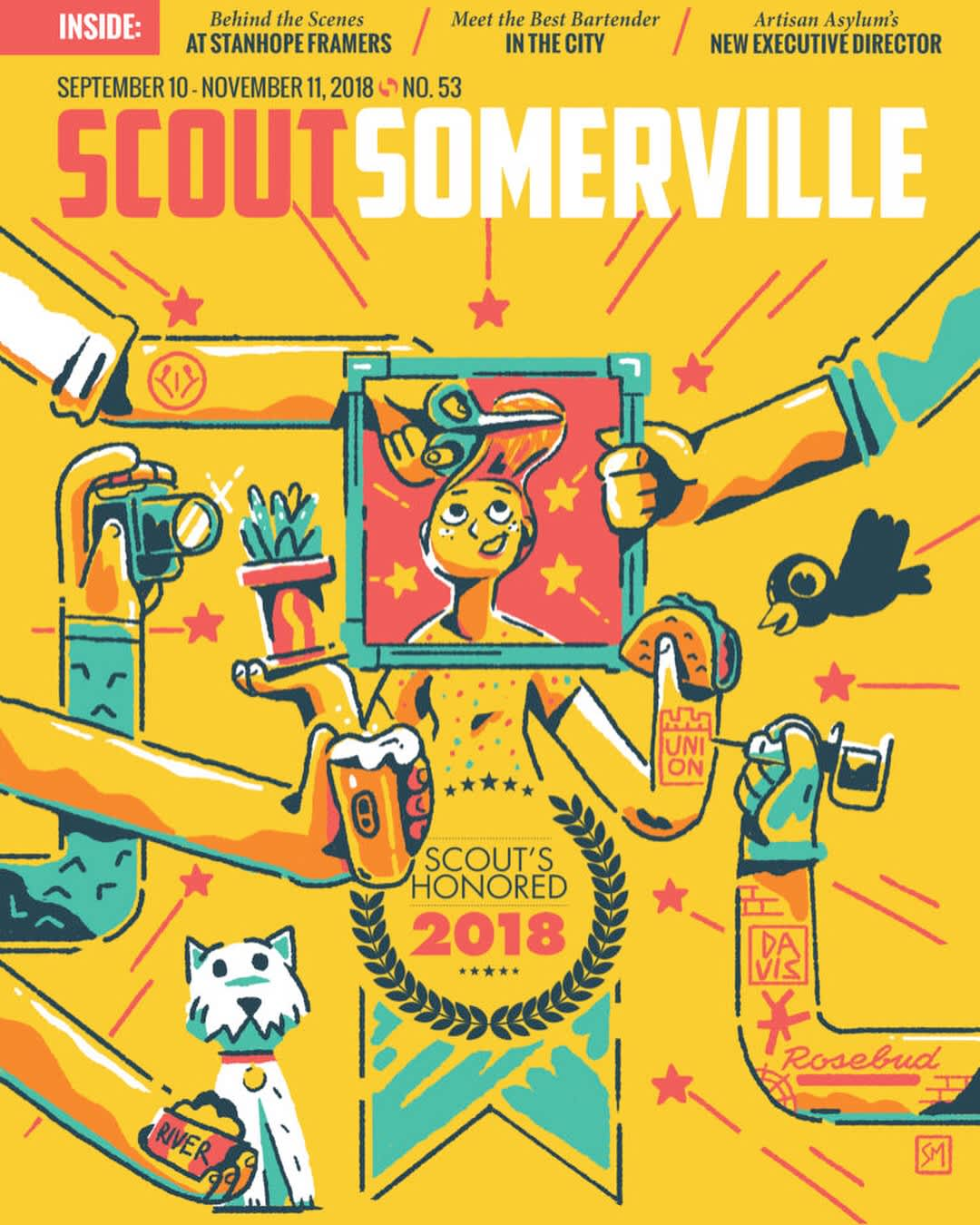 Scout Somerville Cover