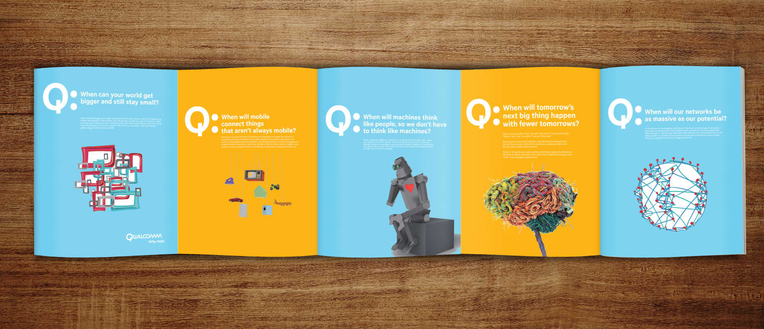 Integrated campaign for Qualcomm
