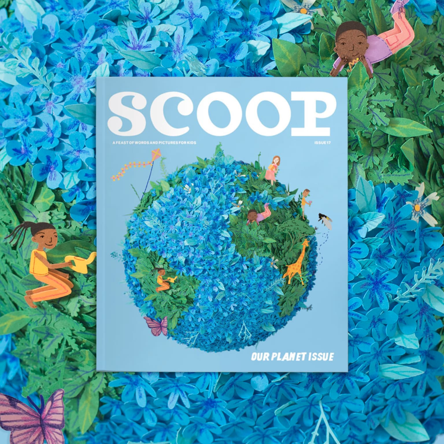 Scoop Magazine 'Our Planet' Cover