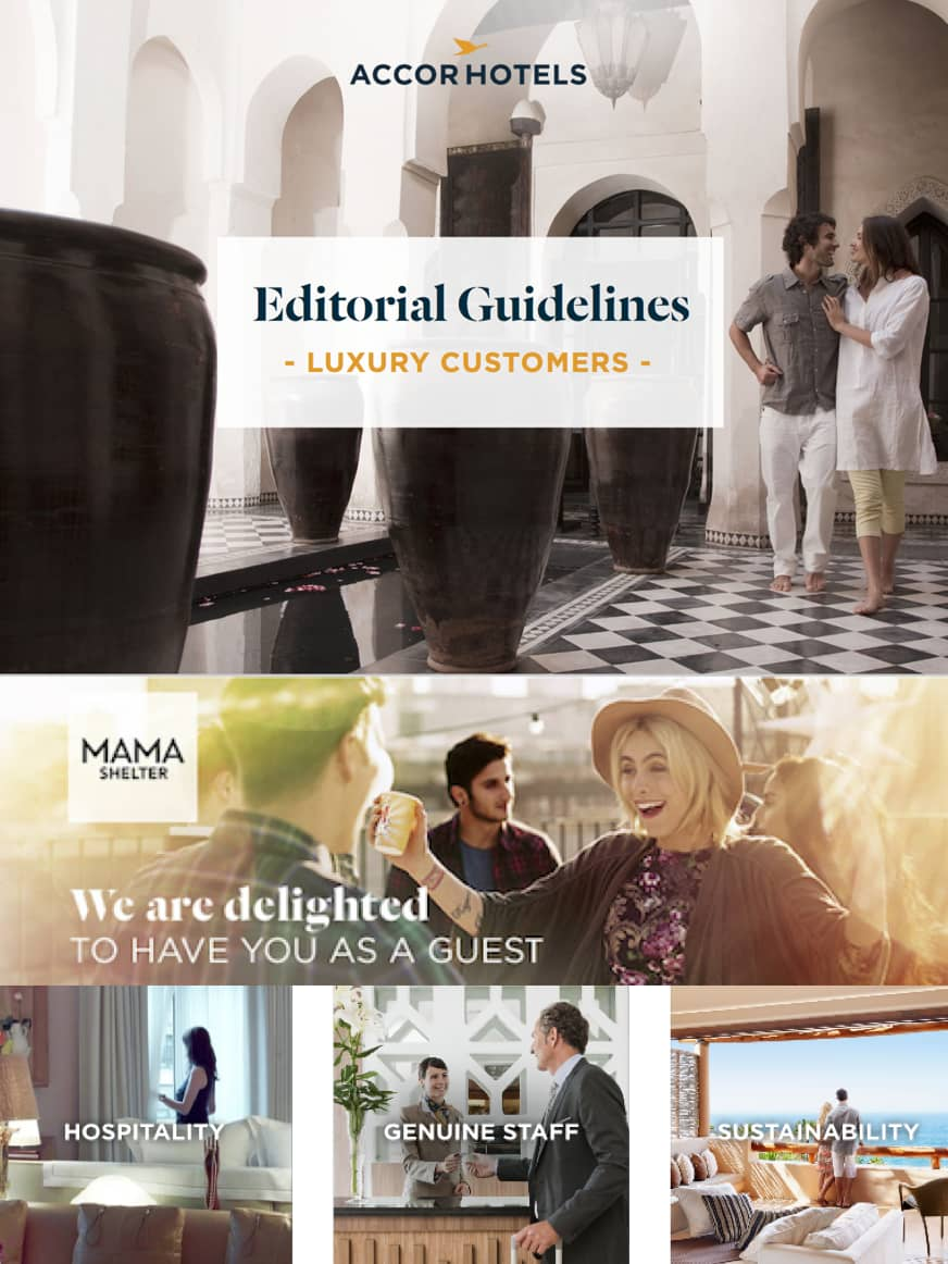 AccorHotels Editorial Guidelines