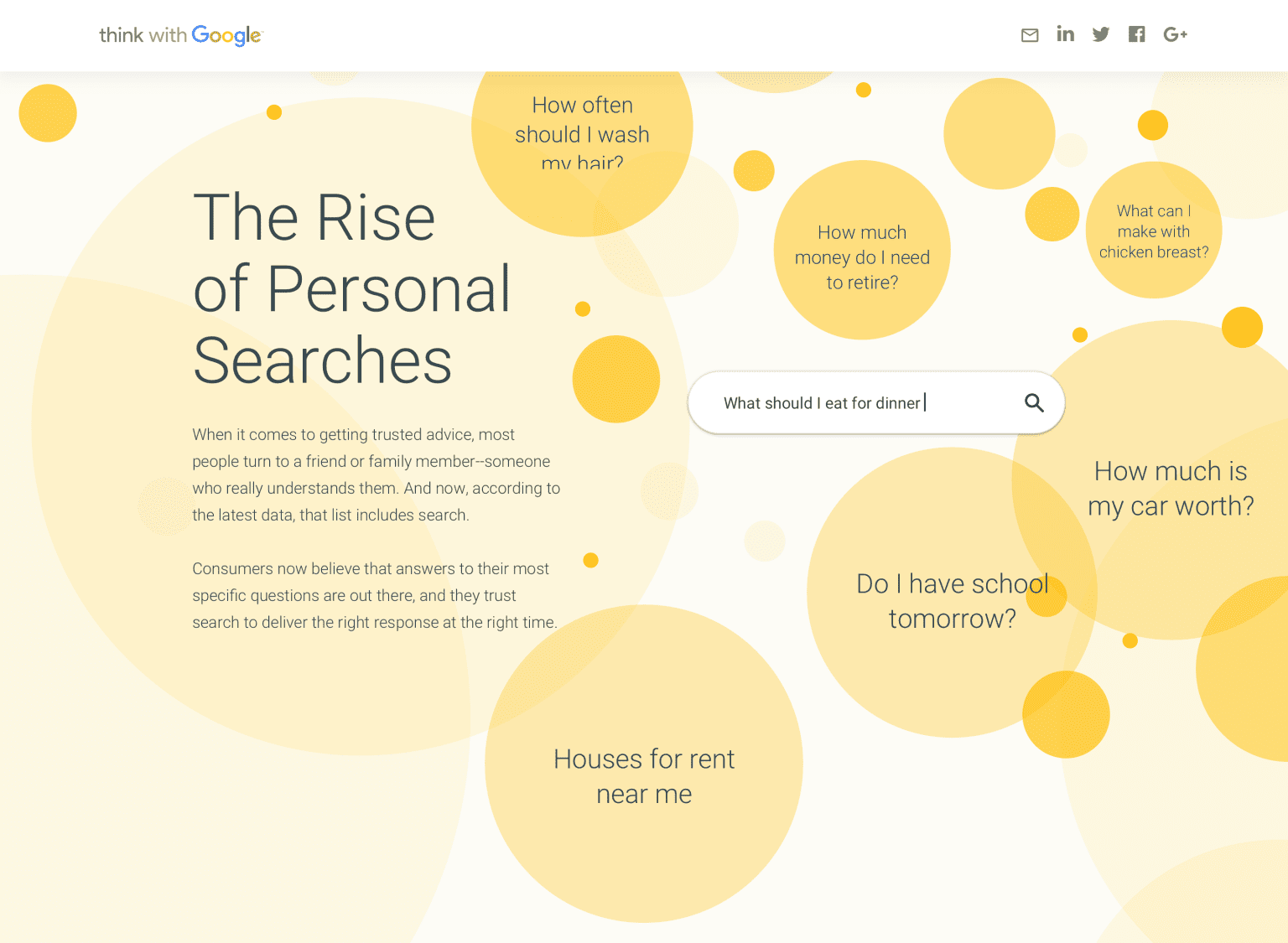 Think With Google - Rise of the Personal Search