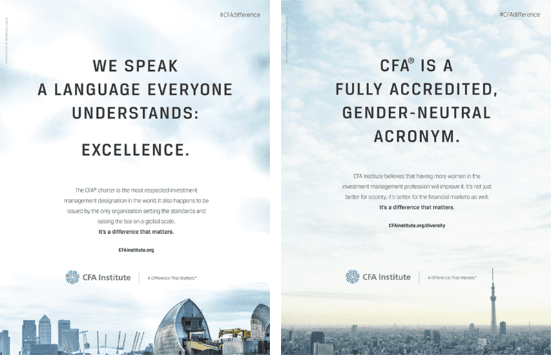 CFA Institute: A Difference that Matters