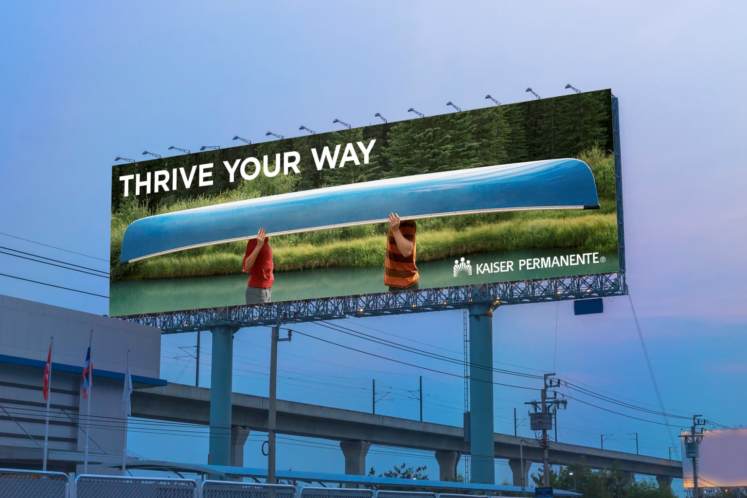 "KAISER PERMANENTE - ""Thrive Your Way"""