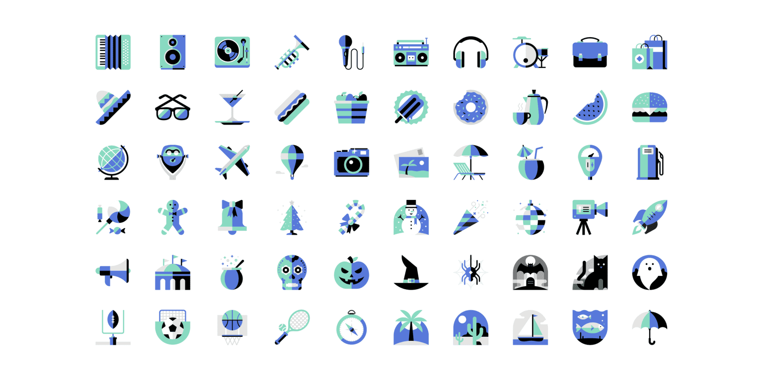Uber Feature Icons