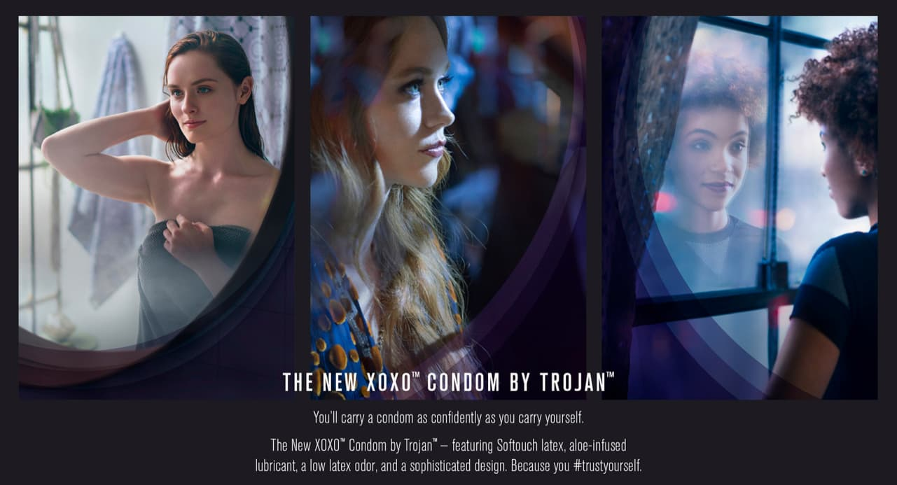 #TrustYourself Trojan's XOXO condom launch - RAZORFISH NYC, 2017