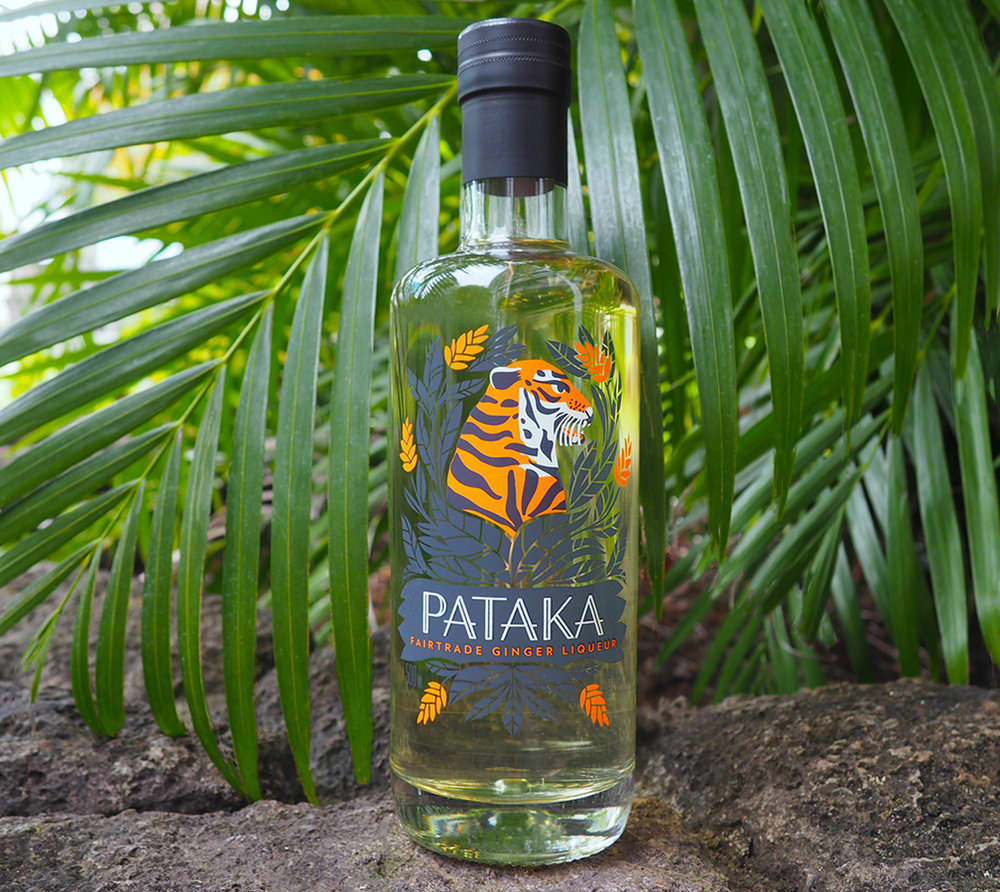 PATAKA Fair Trade Ginger Liqueur Art