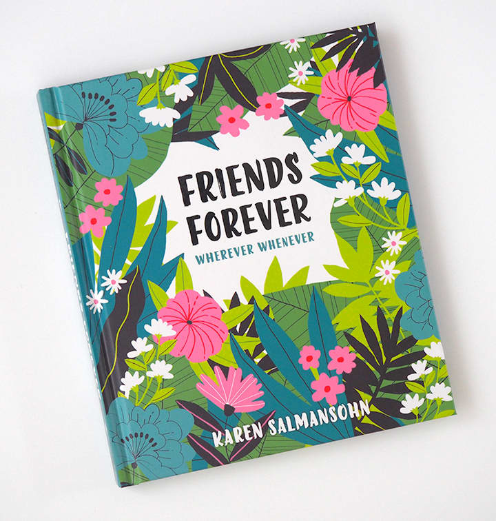 Illustrations for Friends Forever Wherever Whenever