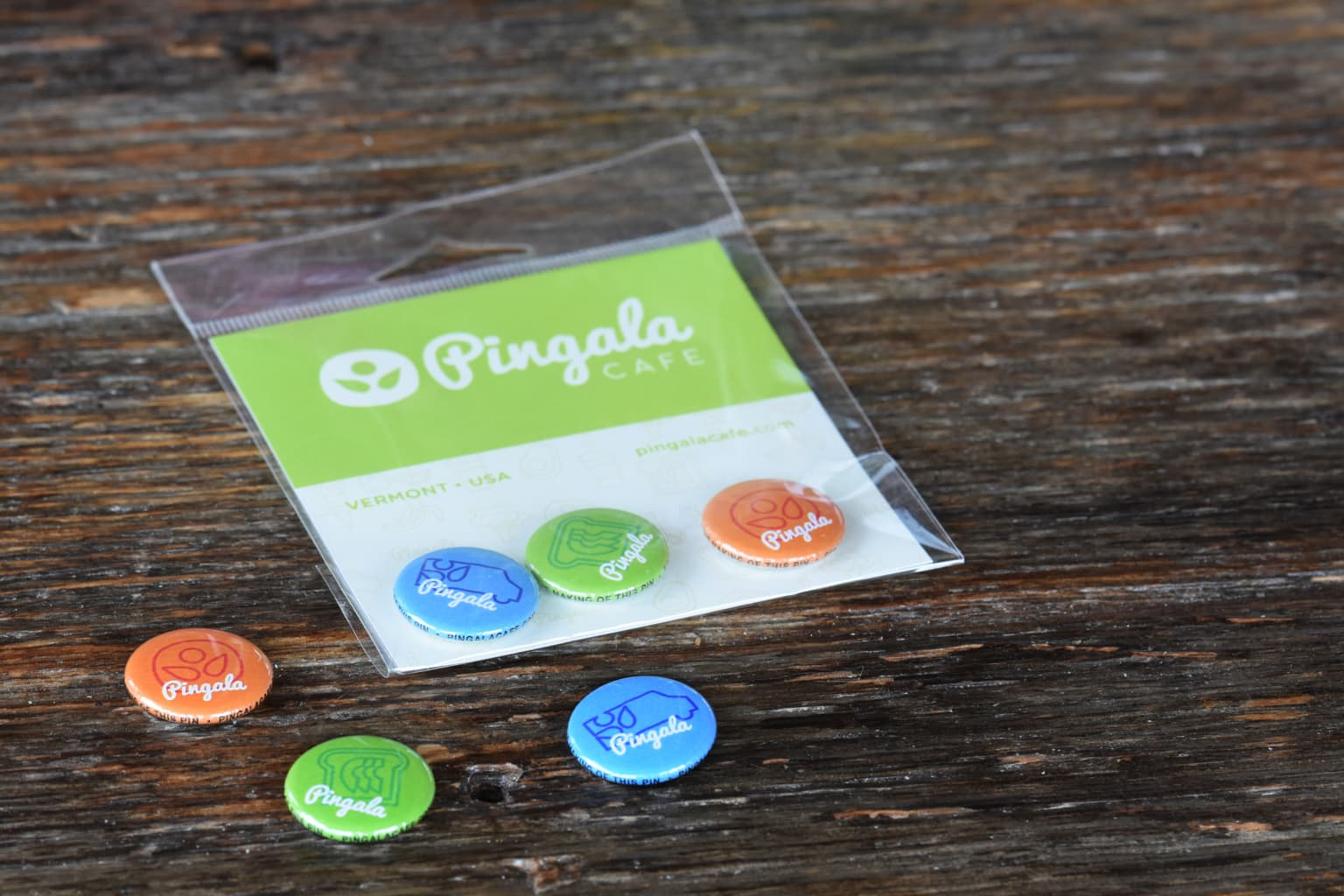 Pingala Cafe Brand Design