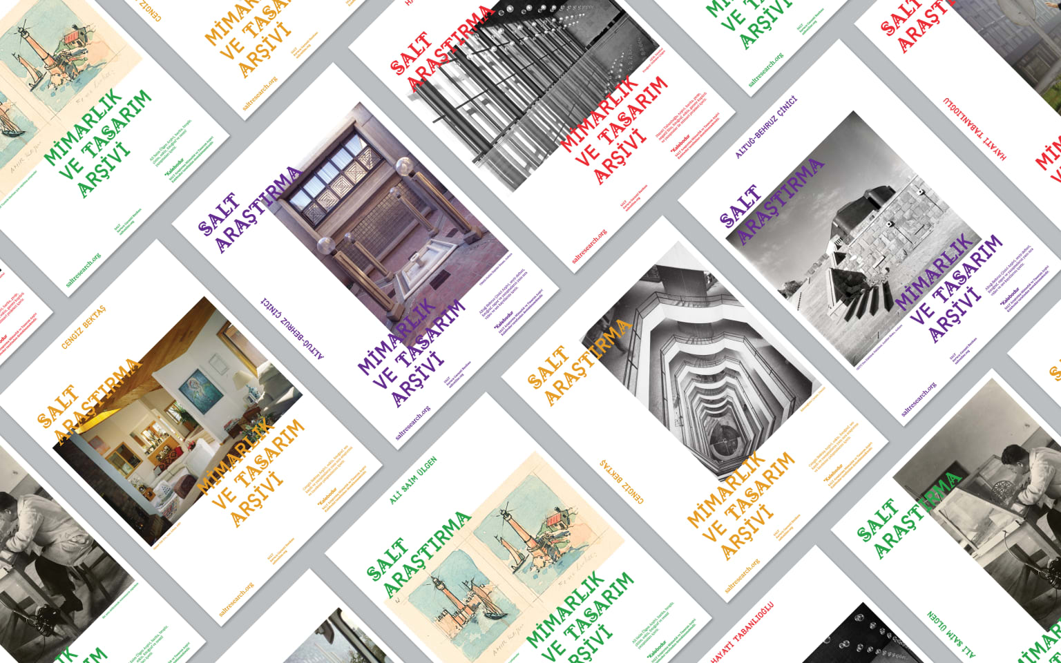 SALT Research Architecture and Design Archive Communication Campaign