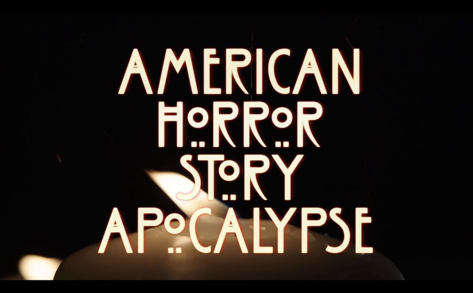 American Horror Story main tittle