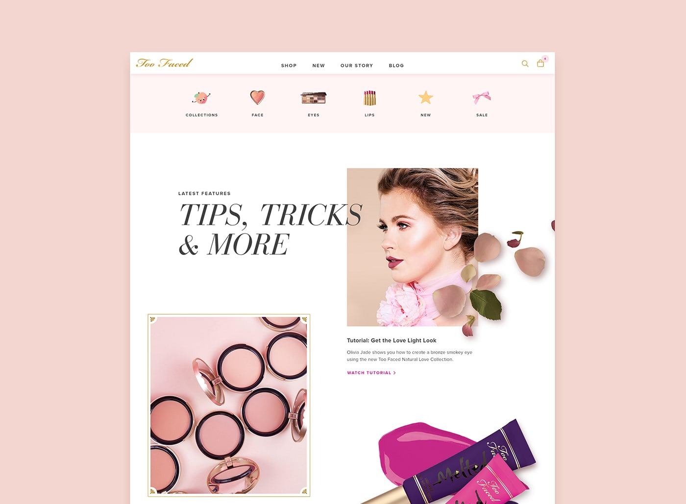 Too Faced Redesign