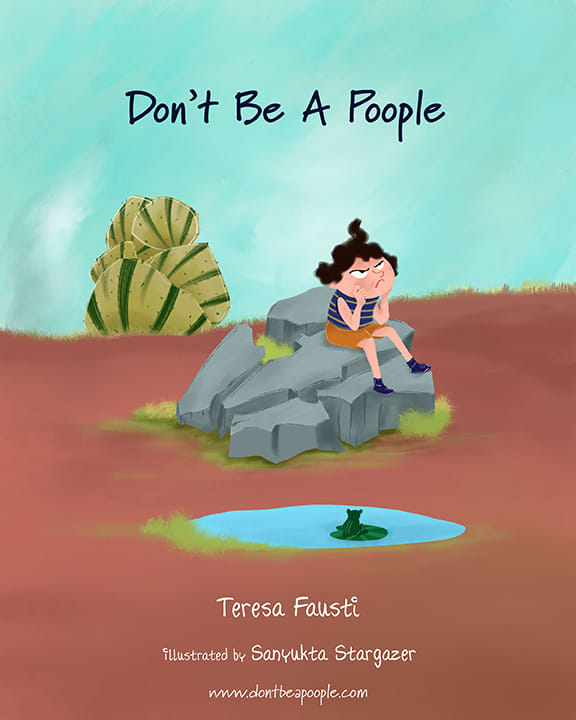"""""""Don't Be A Poople"""" Book Illustration"""